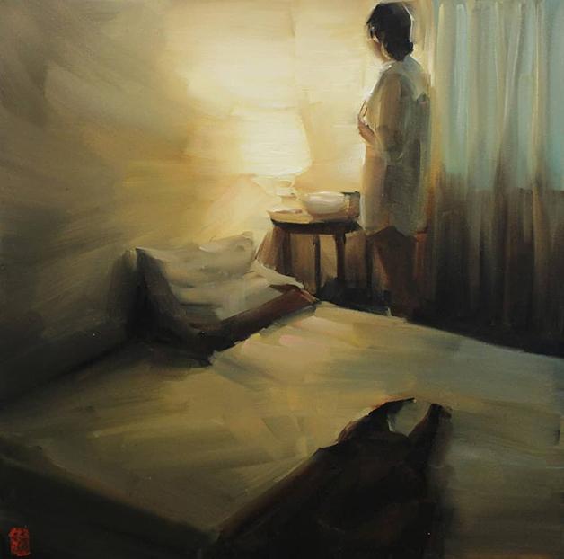 Pintura da sul-africana Sasha Hartslief