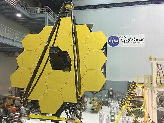 O telescópio James Webb Space Telescope