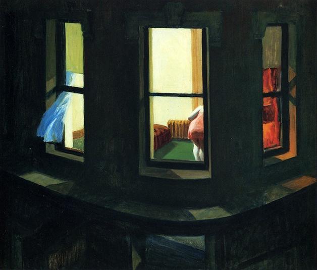 """""""Night Windows"""", de Edward Hopper (1928)"""