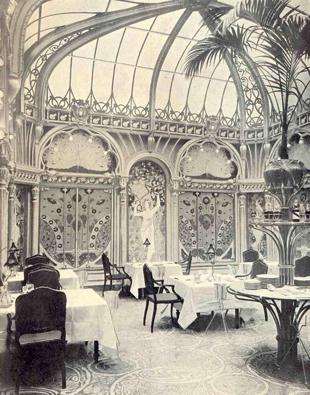 """O incrível """"salão 1900"""" do Beefbar Paris"""