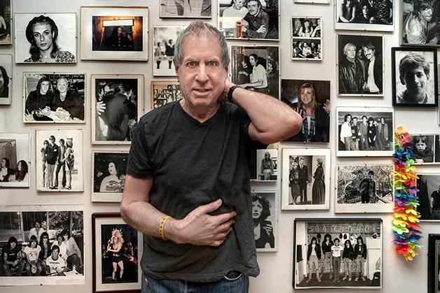 """Danny Fields e sua casa no livro """"New Yorkers"""""""