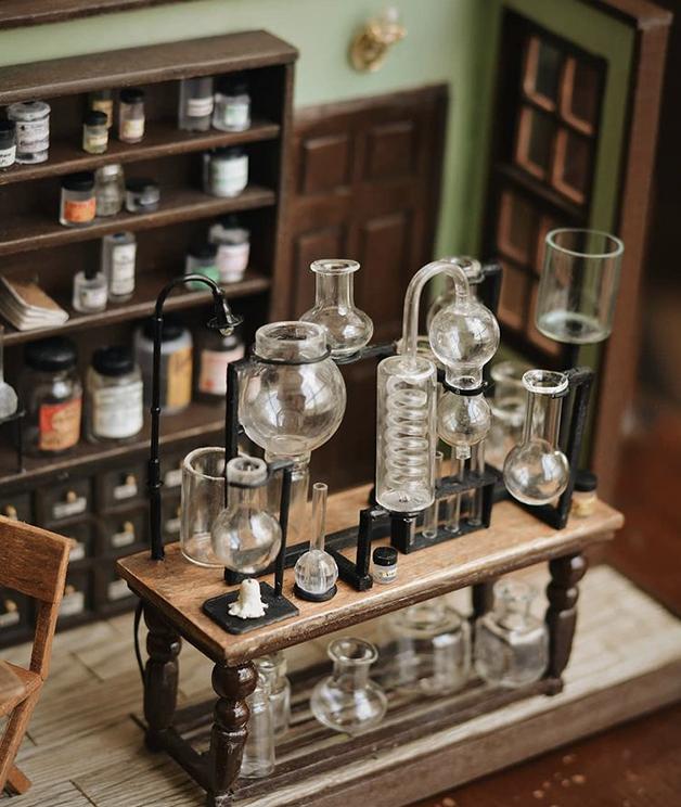 O laboratório em miniatura de Reihan Farahani