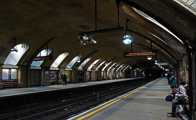 A estação de Baker Street, em Londres