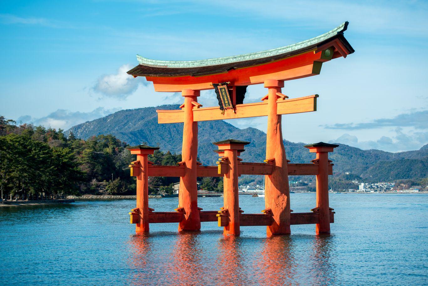O Santuário de Itsukushima