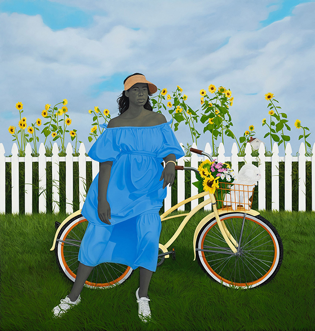 """A Midsummer Afternoon Dream"", quadro de Amy Sherald"