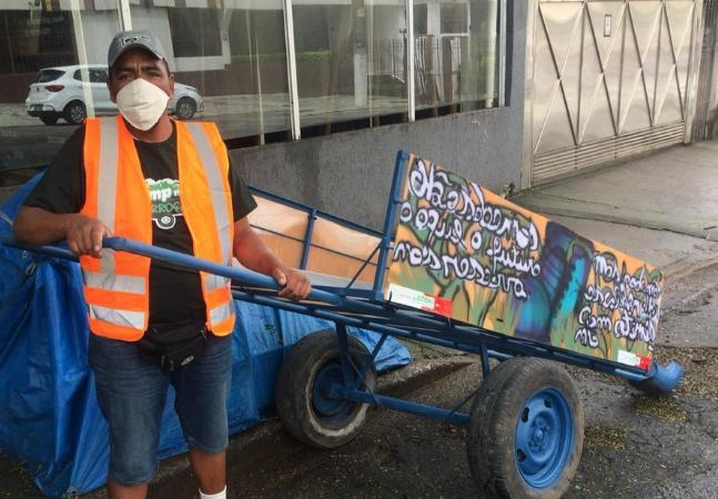 Pimp My Carroça cria campanha para comprar cesta básica para catadores