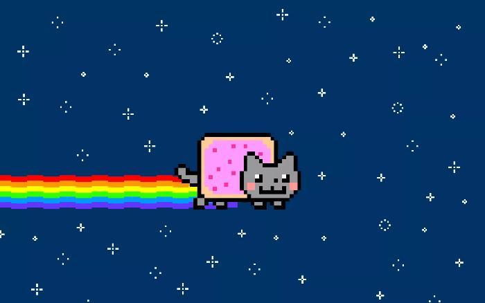 O que é NFT; Nyan Cat;