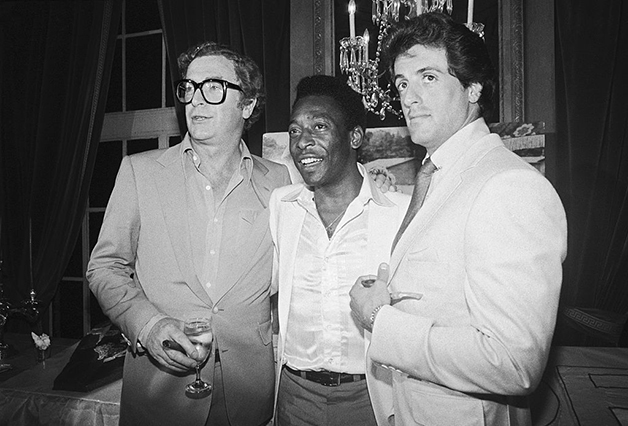Michael Caine, Pelé e Stallone