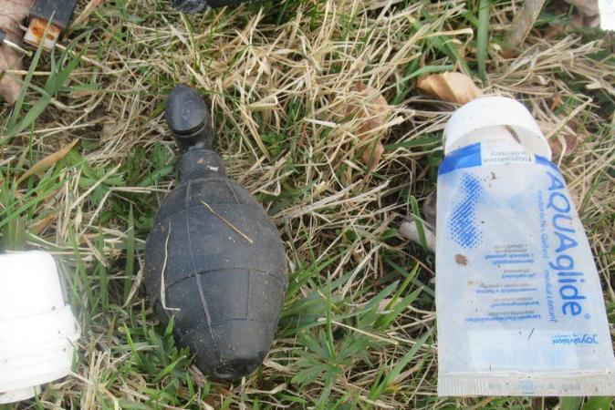 A granada da 2ª Guerra que era, na verdade, um brinquedo sexual