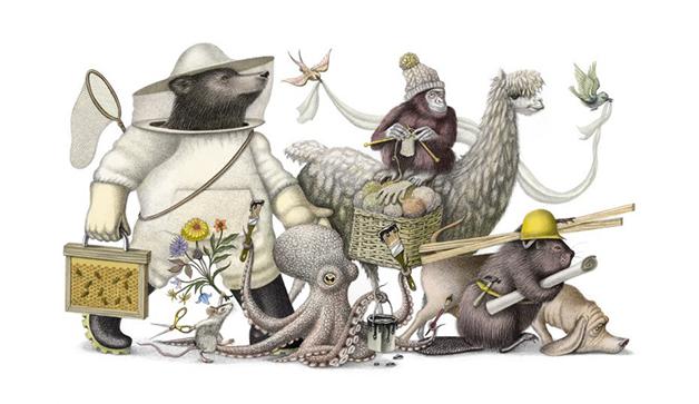 Ilustração de Armando Veve