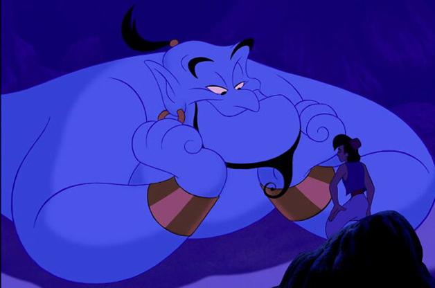 Aladdin e o gênio