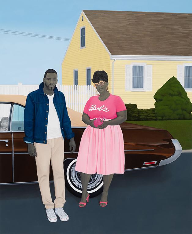"""As American as apple pie"", quadro de Amy Sherald"