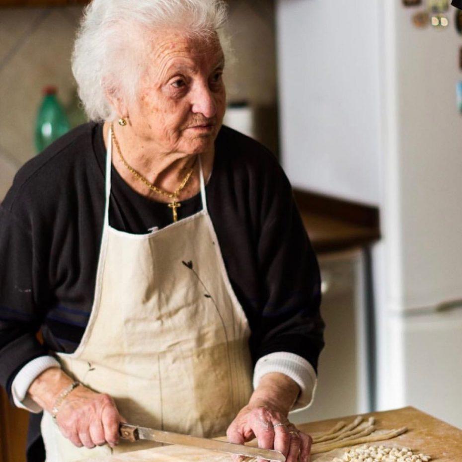 late Quintina © Pasta Grannies