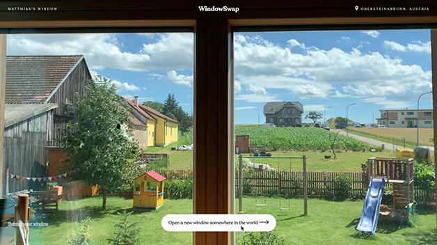 Janela do site Window Swap