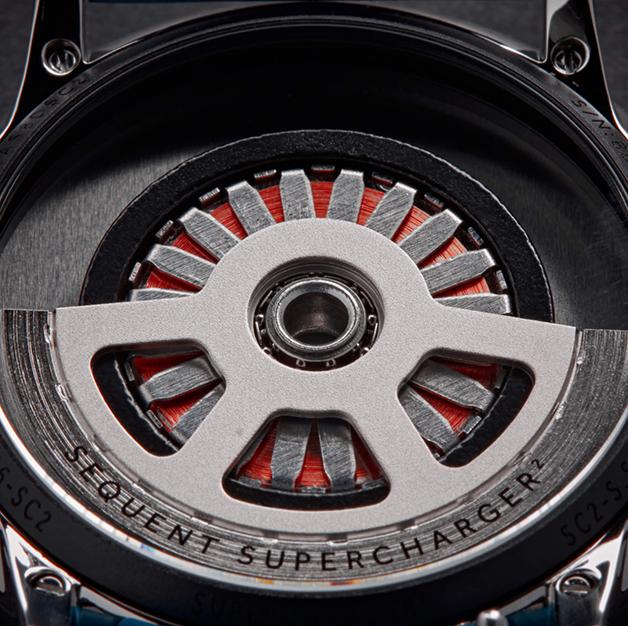 Motor do relógio Sequent Supercharger 2.1