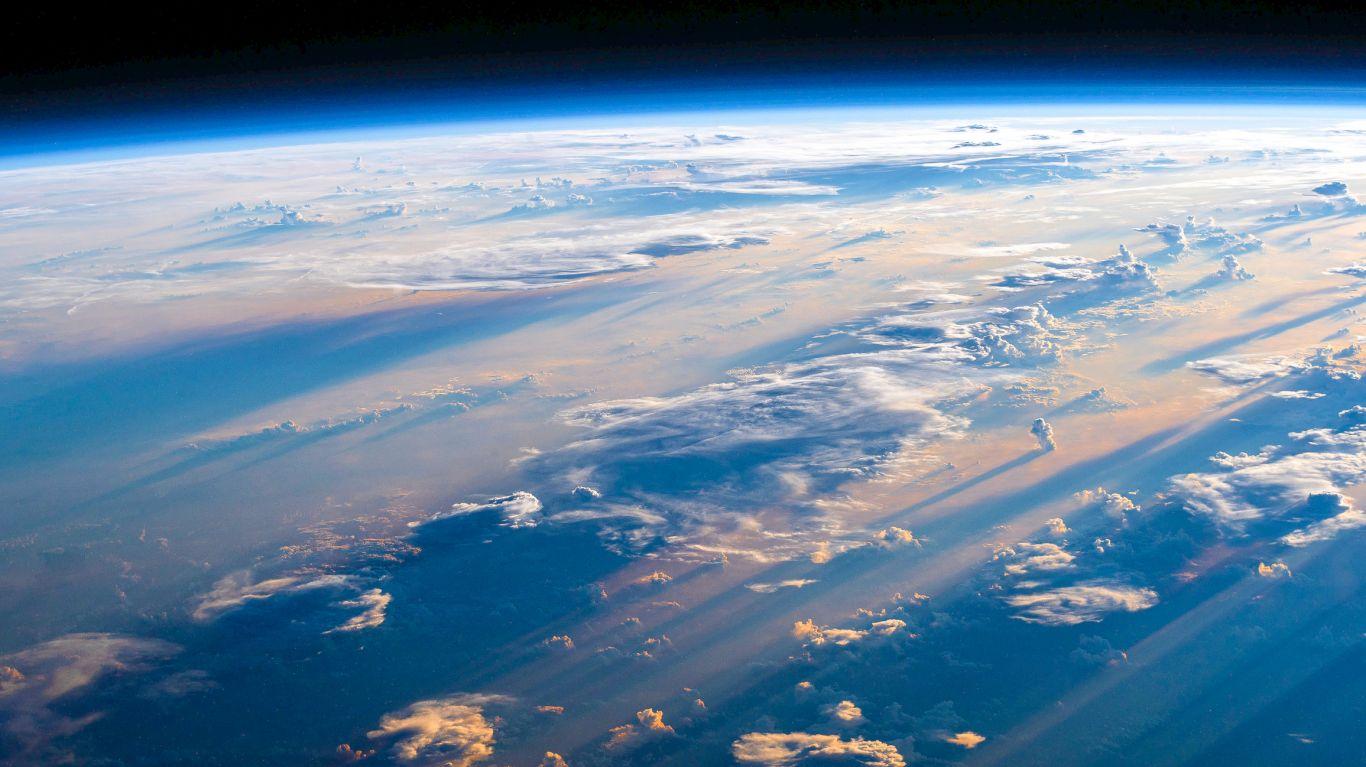 Planeta Terra azulzinho