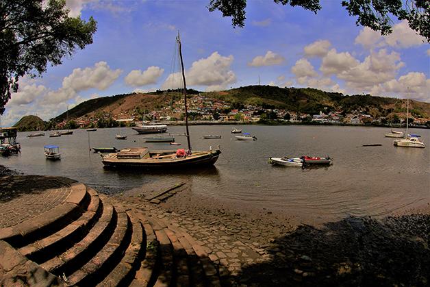 O porto da cidade de Cachoeiro, no Recôncavo
