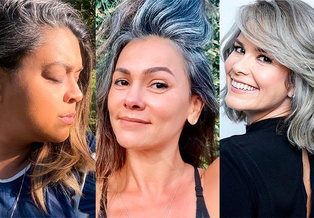 Preta Gil, Suzana Alves e Samara Felippo: mulheres celebram relação com fios brancos