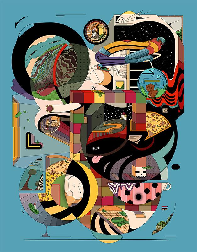 Ilustração de Ori Toor