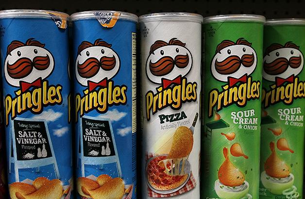 Batatas Pringles