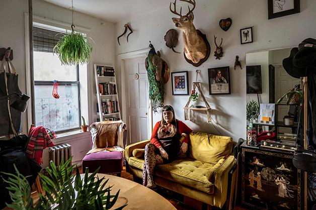 """Meta Hillmann e sua casa no livro """"New Yorkers"""""""