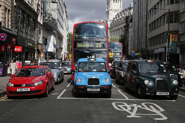 Trânsito em Londres