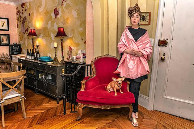 """Suzanne Mallouk e sua casa no livro """"New Yorkers"""""""