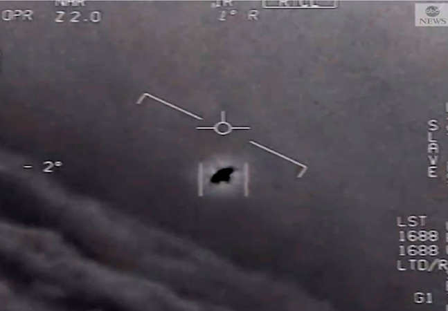 Pentágono confirma veracidade de vídeo com OVNIs em formato de pirâmide