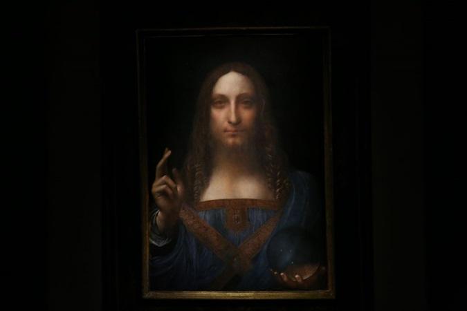 'Salvator Mundi', obra mais cara de Da Vinci avaliada em R$2,6 bi, é vista em iate de príncipe