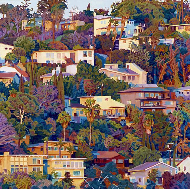 Pintura do artista Seth Armstrong
