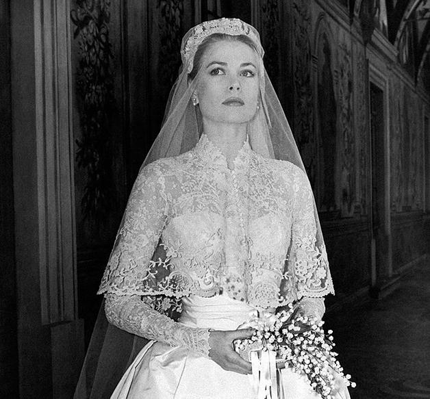 Grace Kelly em seu casamento
