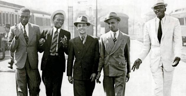 Paulo da Portela, Heitor dos Prazeres, Gilberto Alves, Bide e Marçal