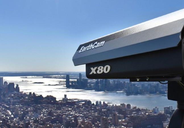 Nova York e seus arranha-céus retratados em lindo clique de webcam
