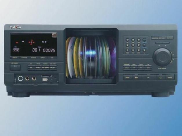 CD Player com vários CDs simultâneos