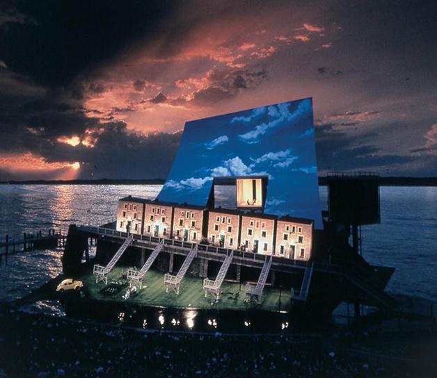 Cenário de Fidelio, de 1995