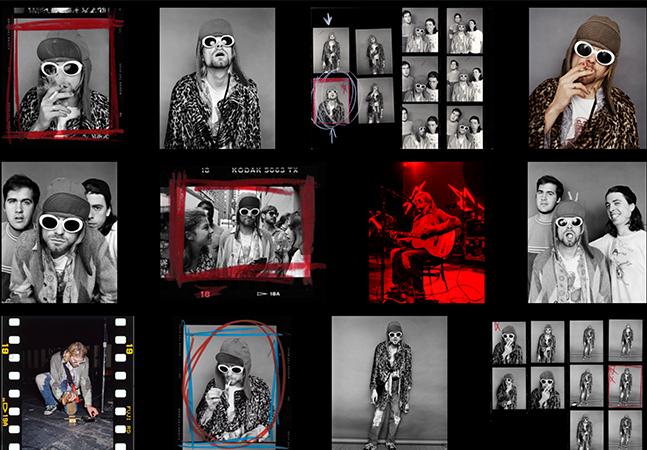 Fotos da última sessão de Kurt Cobain são vendidas como NFT