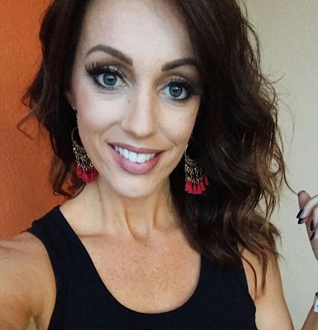 A blogueira Miranda Parker