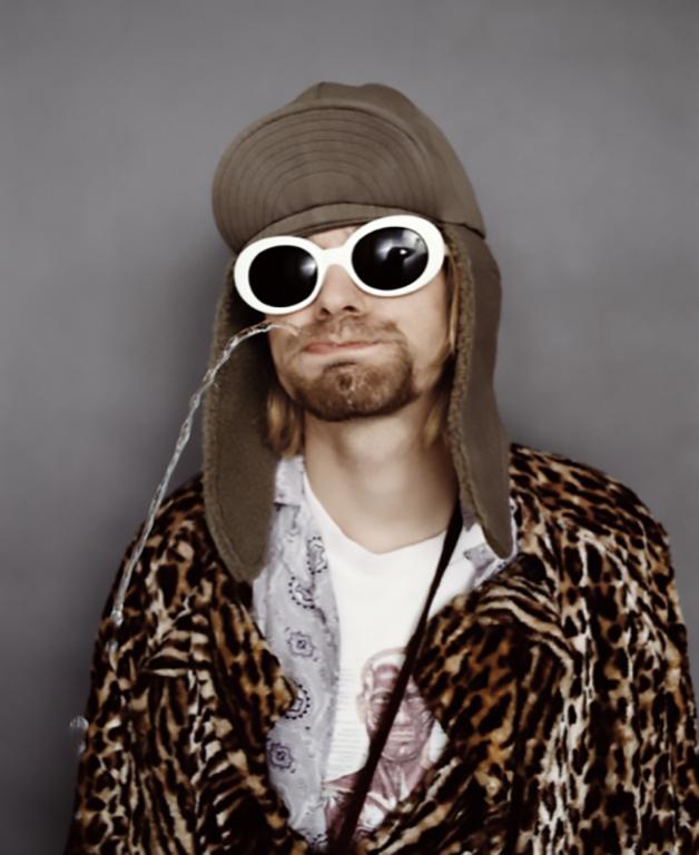 Fotos de Kurt Cobain por Jesse Frohman