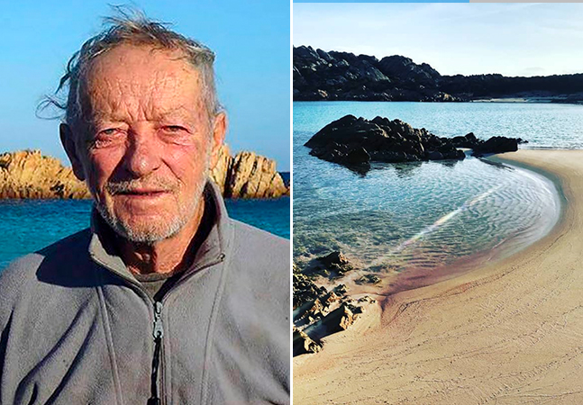 'Robison Crusoé' da vida real é obrigado a deixar a ilha onde viveu sozinho por 32 anos