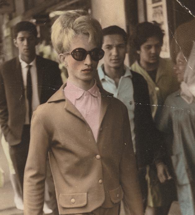 Kewpie nas ruas do District Six