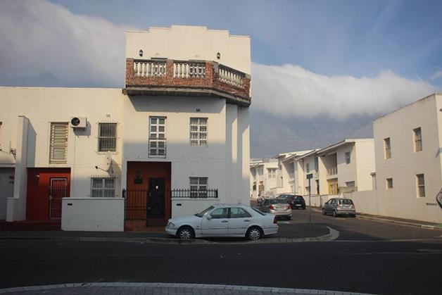 Casa da região hoje, aproveitando uma velha fachada como forma de lembrar o antigo bairro
