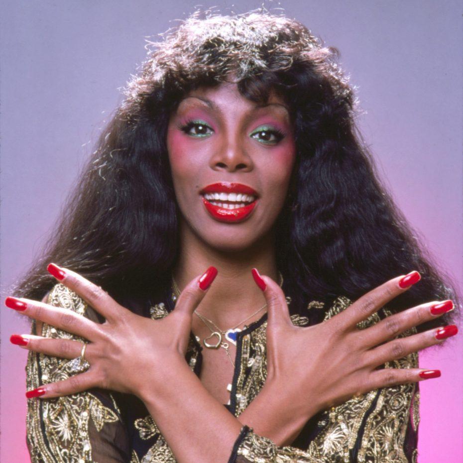 Diva do disco Donna Summer, Novembro de 1978. (Foto por Jack Mitchell/Getty Images)