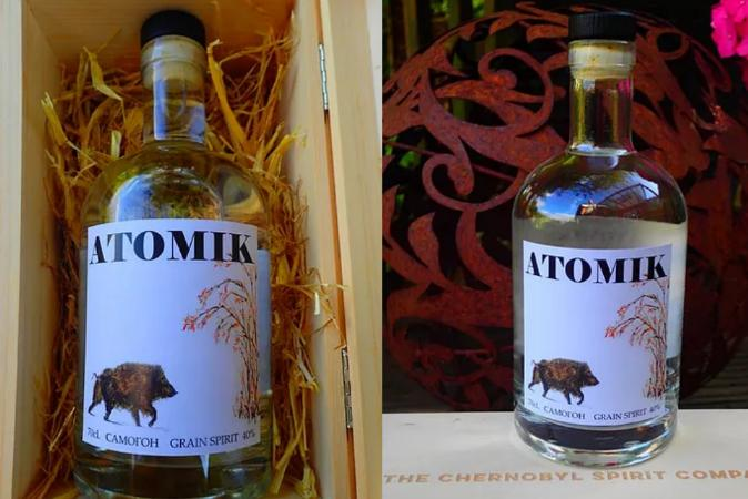 1º lote da vodka Chernobyl feita de ingredientes de central nuclear é apreendido pela polícia