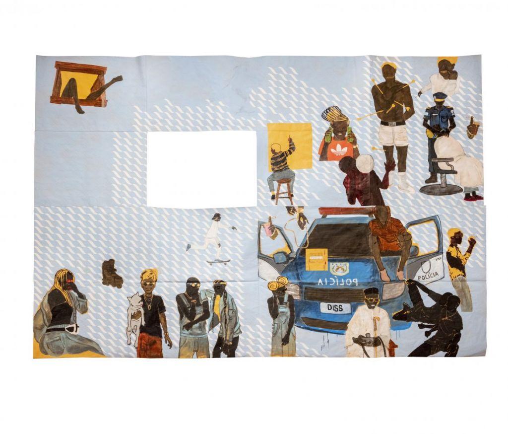 Maxwell Alexandre Um cigarro e a vida pela janela (diss), da série Pardo é Papel, 2019