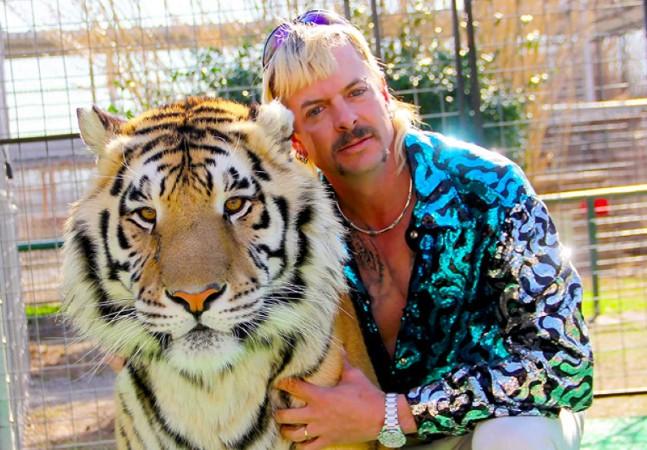 Tigres e leões de estrela de série da Netflix são apreendidos nos EUA