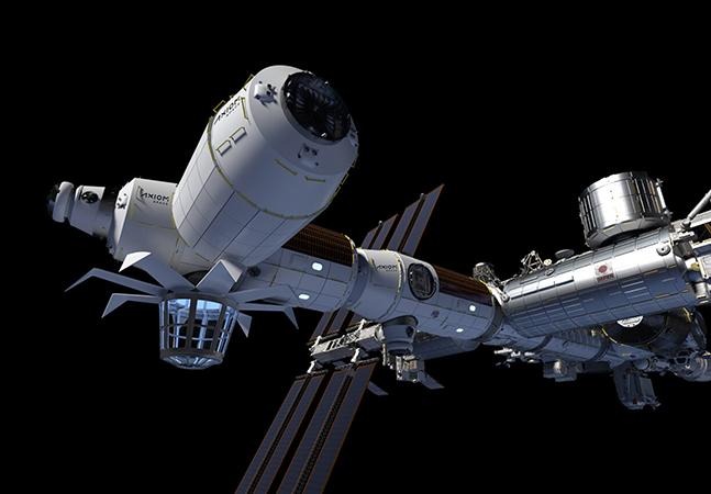 Axiom Space e NASA anunciam primeira missão totalmente privada ao espaço