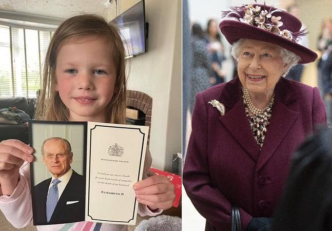 Rainha responde carta fofa de menina de 5 anos sobre príncipe Phillip