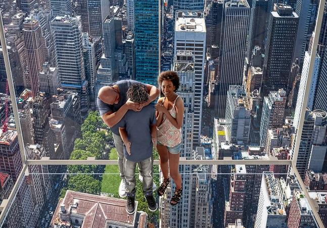 NY tem elevador de vidro de 36 metros com vista panorâmica de Manhattan