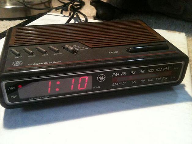 O onipresente despertador GE