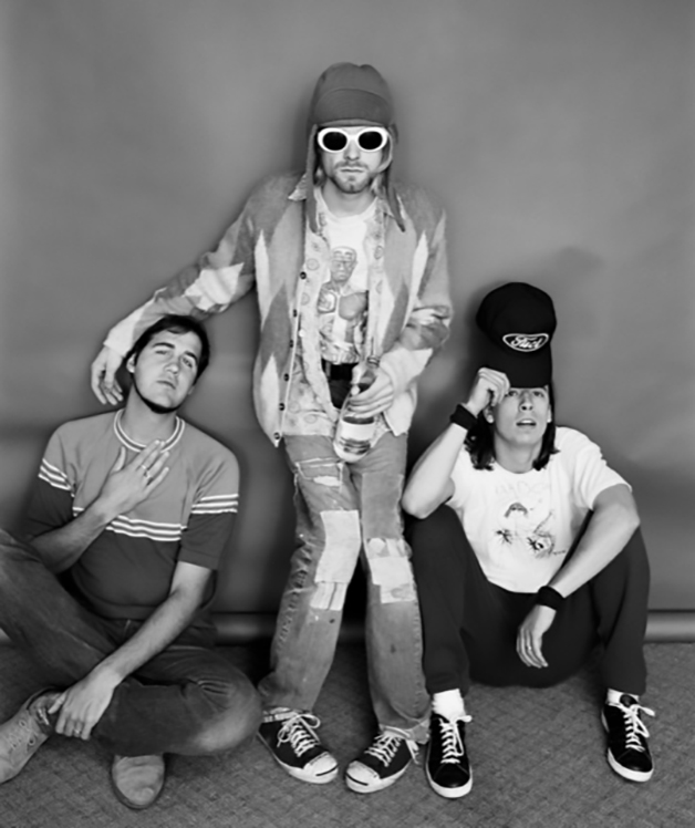 Fotos de Kurt Cobain e do Nirvana por Jesse Frohman